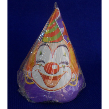 code 073424-  Paper hat CLOWNS - set of 10