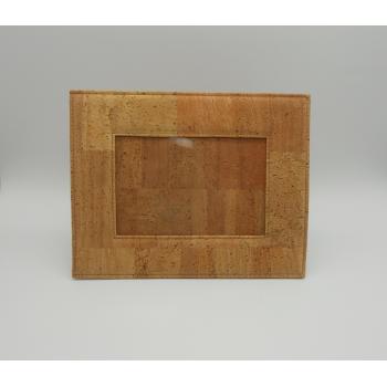 ref.VK-887-B- Moldura em pele de cortiça - Fotos 15 cm