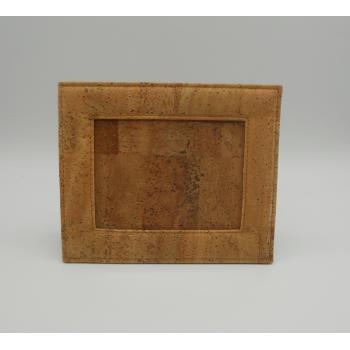 ref.VK-8887- Moldura em pele de cortiça - Fotos 12 cm