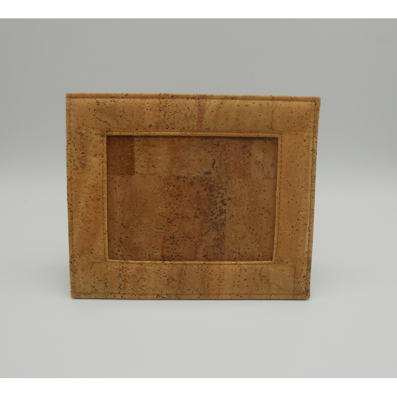 code VK-8887- Leather cork frame - 12 cm Photos