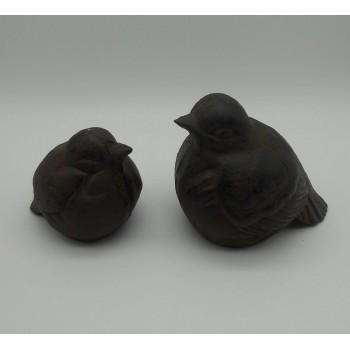 ref.DCT-TT22/TT23 - Pássaros em ferro - conjunto de 2