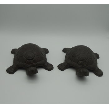 code DCT-TT119/TT120 - Cast iron turtles - set of 2