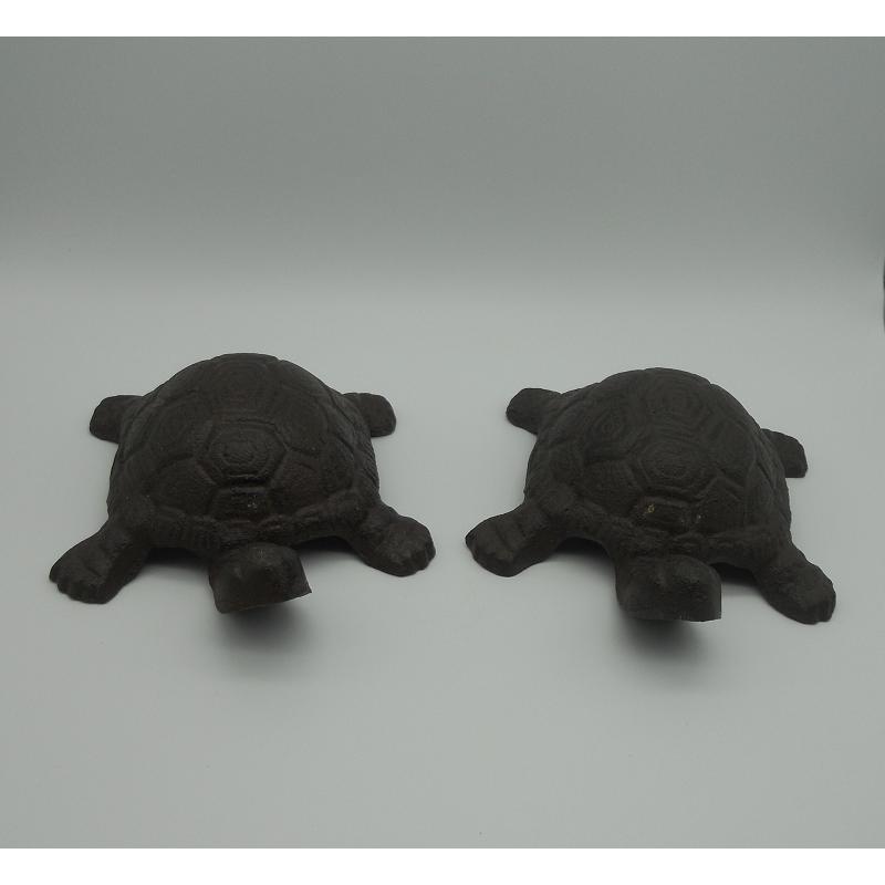 code DCT-TT119/TT120 - Cast iron turtles - set of 2