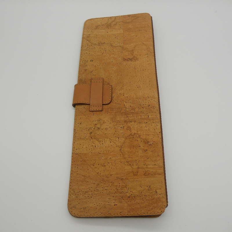 code 071807 - Cork leather travel tie case