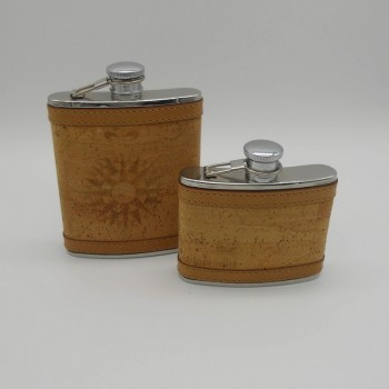 code 071808/09 - Hip flasks - small and large