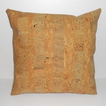 ref.071214- Almofada 45 cm lisa em pele de cortiça