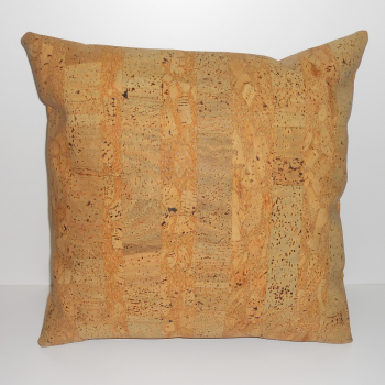 code 071214- 45 cm Flat leather cork cushion