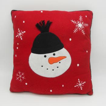 code 071202- Snowman cushion - 40x40 cm
