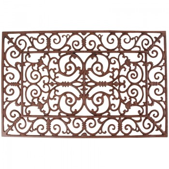 code DCT-LH38- Cast iron rectangular doormat