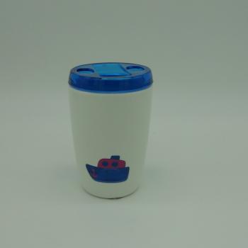 ref.039507- Conjunto para casa de banho - Ferry - copo de escovas