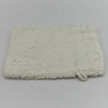 code P-2-Alfazema- White terry cloth bathmit