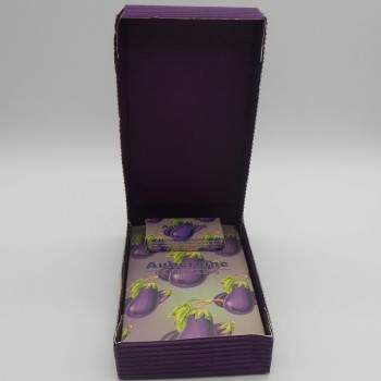 code 048025-AU/29-AU-Mini bath gift set - aubergine