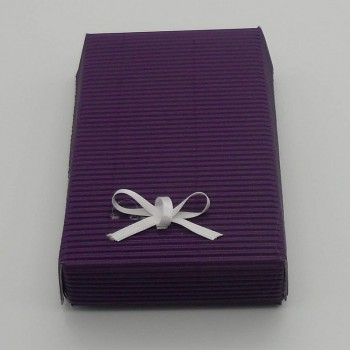 code 048025-AU/29-AU-Mini bath gift set - aubergine-box