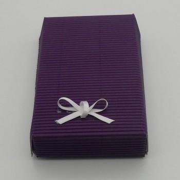ref.048025-AU/29-AU - Mini conjunto de banho gift - aubergine - caixa