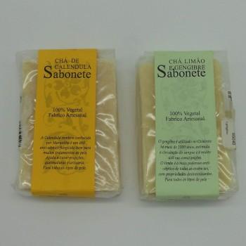 """ref.048051/52 - Duo de sabonetes """"antissépticos"""""""