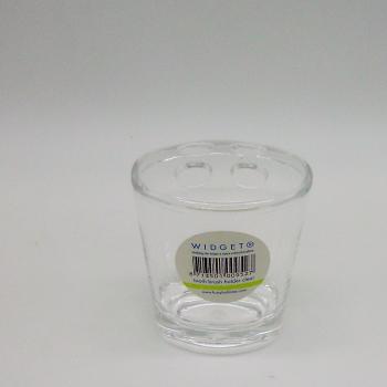 ref.039810 - Kit de casa de banho - clear - copo de escovas de dentes