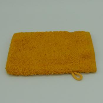 ref.P-2-Melon- Luva de banho amarelo açafrão