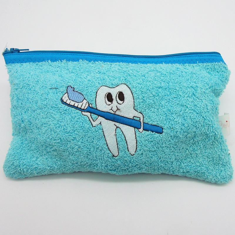 ref.050820-AC-AT-Estojo infantil de cuidados dentários - dentinho azul