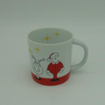code 500007-Children dinner set Santa and Donner-Mug
