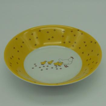 ref.500006-Serviço de bébé - Pica no Chão-taça cereais ou sopa