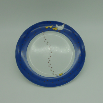 "code 500006-Baby dinner set - ""Pica no Chão""/""Pecking chicken""-plate"