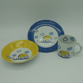 code 500005-Baby dinner set - Big Sheep/Little Sheep