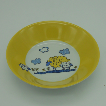 code 500005-Baby dinner set - Big Sheep/Little Sheep-cereal bowl or soup