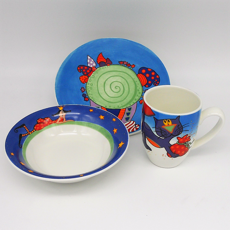 "code 500000- Baby dinner set ""Era uma vez""/""Once upon a time"""