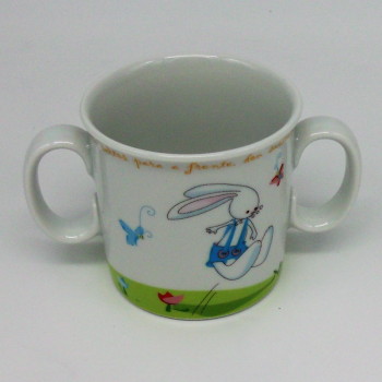 "code 500030- Baby dinner set - O coelhinho/"" The Rabbit""-mug"