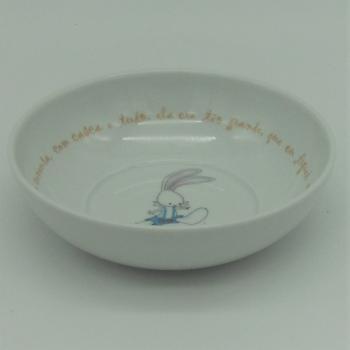 """code 500030-T-A-Round bowl - O coelhinho/"""" The Bunny"""""""