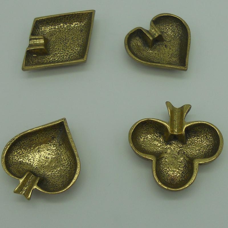 code 034014-2-Ashtray ace - set of 4 (shiny) - assorted