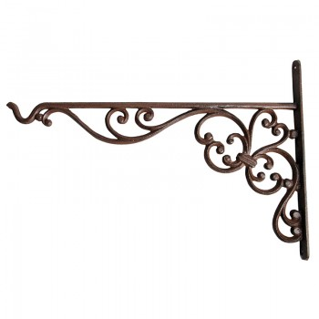 code DCT-BPH53 - Cast iron basket hanging hook - 25 cm