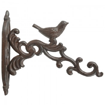 code DCT-BR21 - Cast iron basket hanging hook - Bird