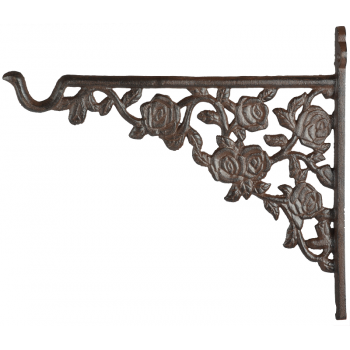 code DCT-TT209 - Cast iron basket hanging hook - Roses