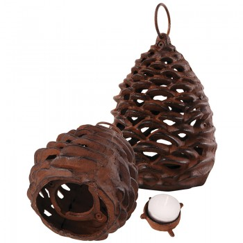 code-DCT-XM57 - Pinecone lantern - Small
