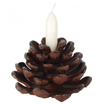 code DCT-XM61 - Candle holder - Pinecone