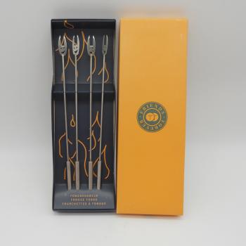 ref.033008 - Garfo de fondue - conjunto de 4
