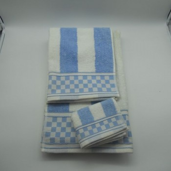 code 050207-3B-YO-3 Pc Bath towel set 3B - A07- YO