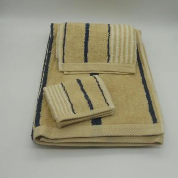 code 050226-3A-IF - 3 Pc A Bath towel set- A91-IF