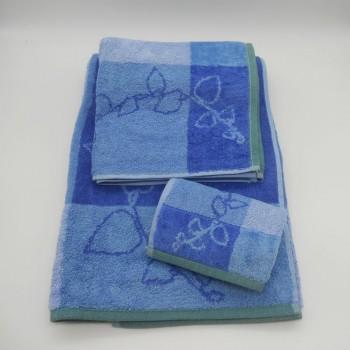 code: 050227-3A-YO - 3 Pc A Bath towel set- A36-YO