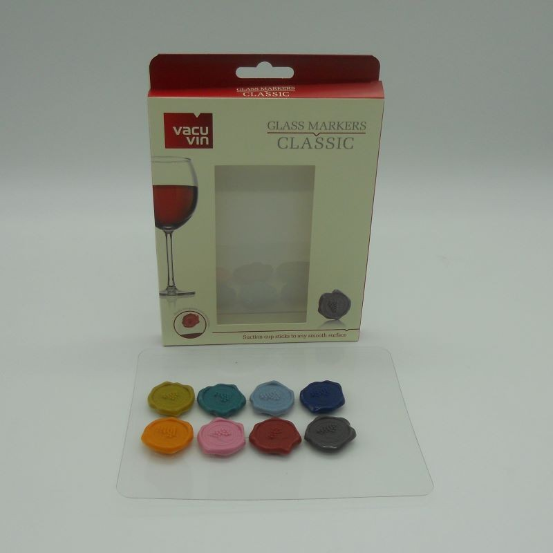 code 039036-Wine stopper - set of 3 coloured