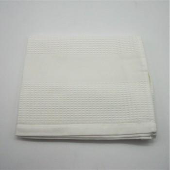 ref.050800-BR - Toalha de rosto 50x100 em piqué - branco