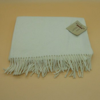 code 050019- Baby throw blanket- ivory