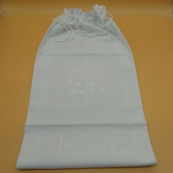 ref.050434- Saco para roupa - bordado flor
