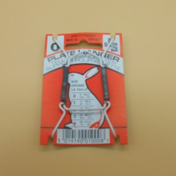 code 034208N0-Plate hanger display with plastic protection - nº 0