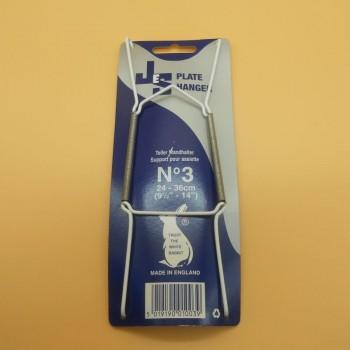 ref.034208N3 - Aranha para pratos com protecção de plástico - nº 3 - conj. de 4