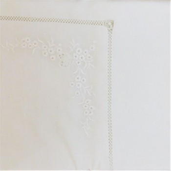 code 050500-12G-BR -Tabletowel   - full branch - white - center