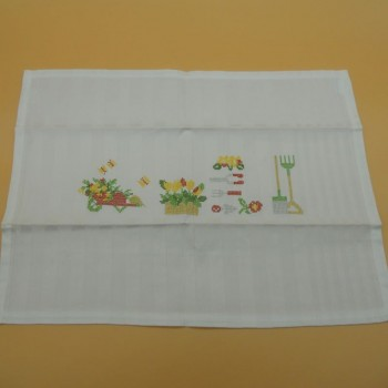 "code 050431 - Table mat with embroidery - Jardim/""Garden""- set of 2"