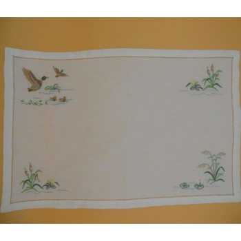 "code 050435-33X48 - Table mat - ""Patos""/""Ducks"" - set of 2"