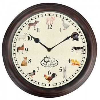 code DCT-TF013 - Farm animal sounds wall clock